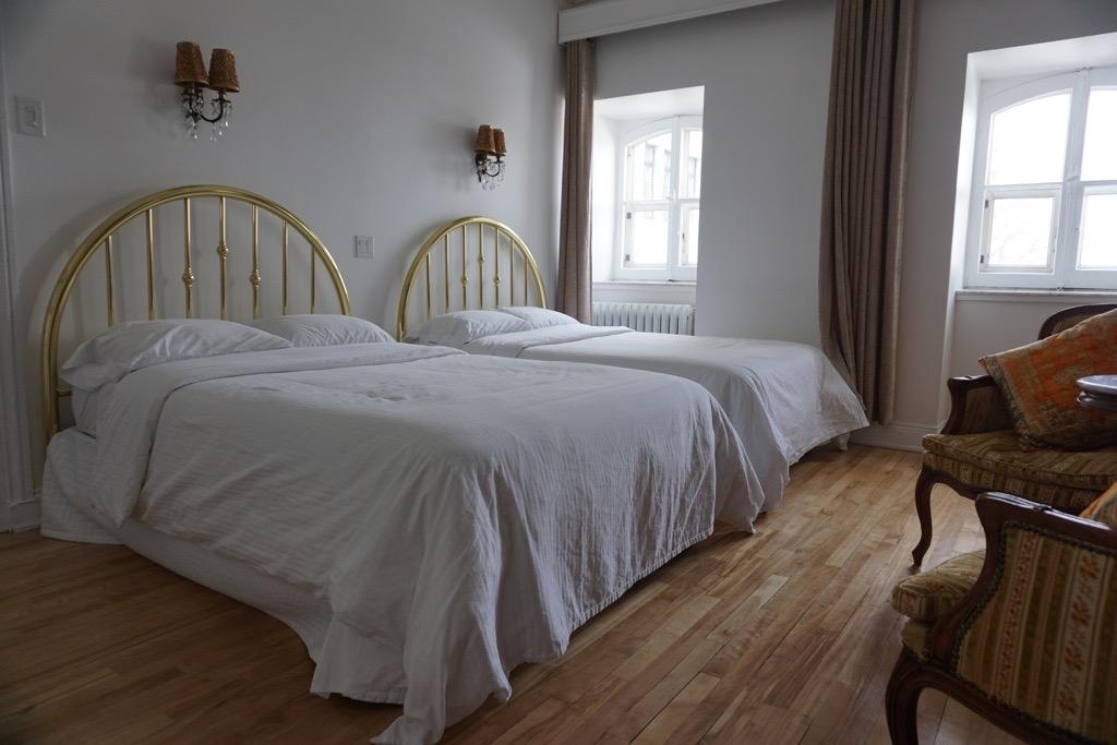 Chambre Avec 2 Lits Double Hotel Marie Rollet